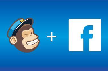 Mailchimp y Facebook unidos por un formulario